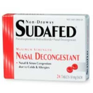 State Drug Warriors Want Prescription Requirement for Sudafed